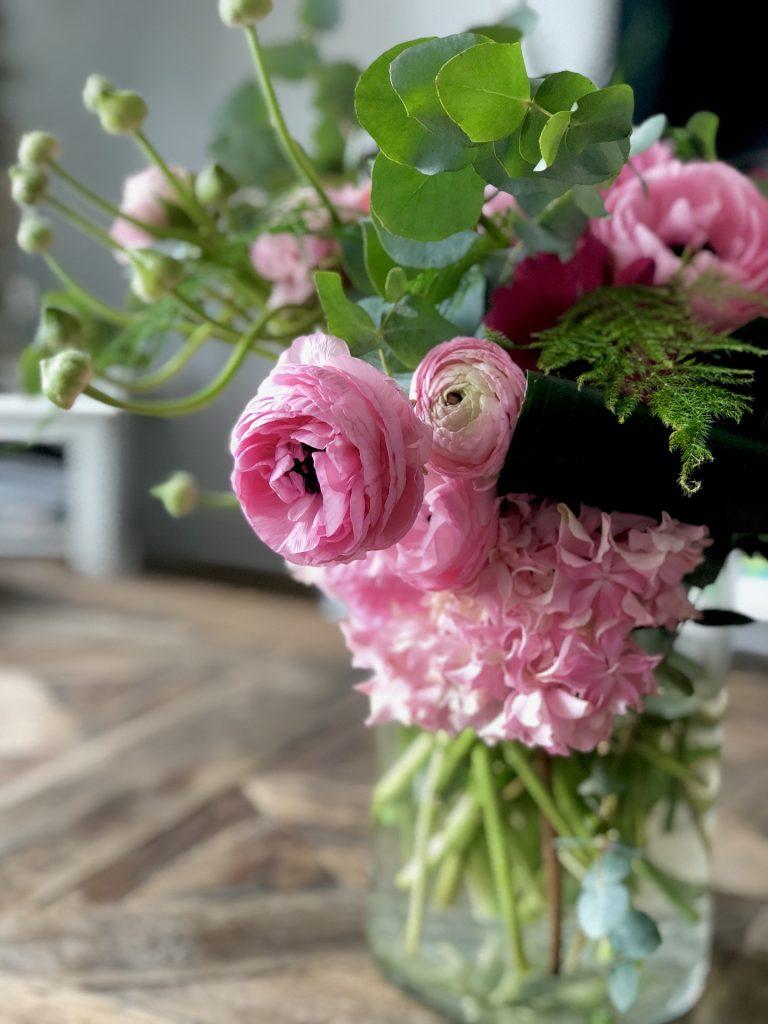 rezané kvety vo váze, správna starostlivosť o rezané kvety